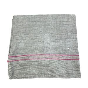 Lululemon Vinyasa Infinity Wrap Scarf Gray